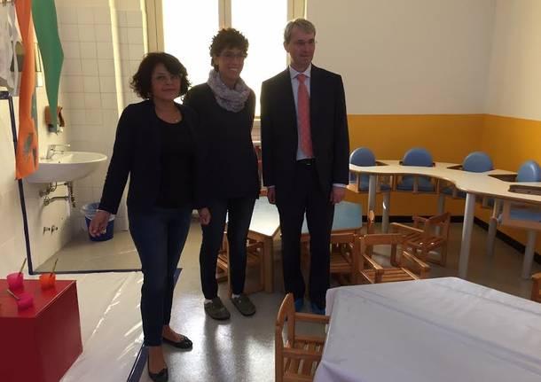 Davide Galimberti e Rossella Dimaggio in visita