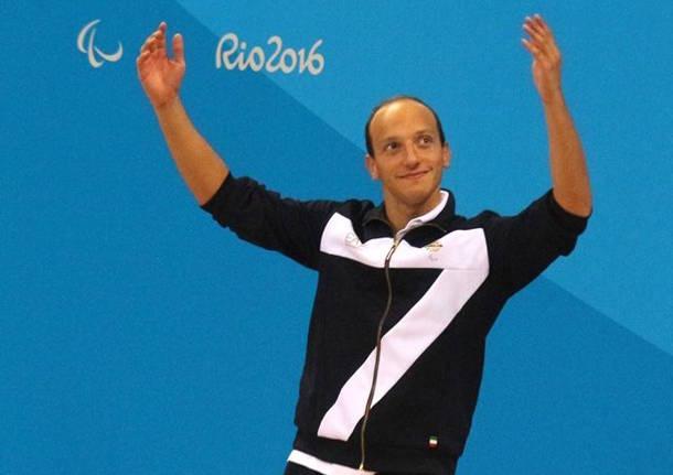 Luino in festa per Federico Morlacchi, argento alle Paralimpiadi
