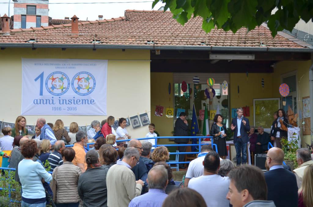 I cento anni dell'asilo di Lissago (foto di Alessia Daverio)