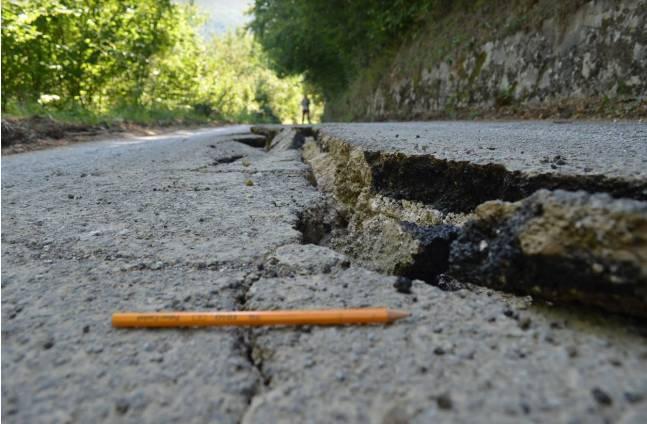 I geologi dell'Insubria studiano gli effetti del terremoto di Amatrice