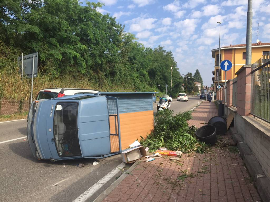 Incidente a Cavaria 26 settembre 2016
