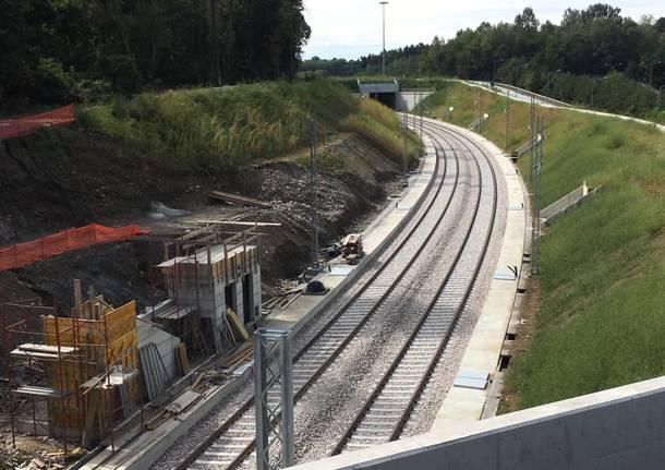 La ferrovia T1-T2 Malpensa