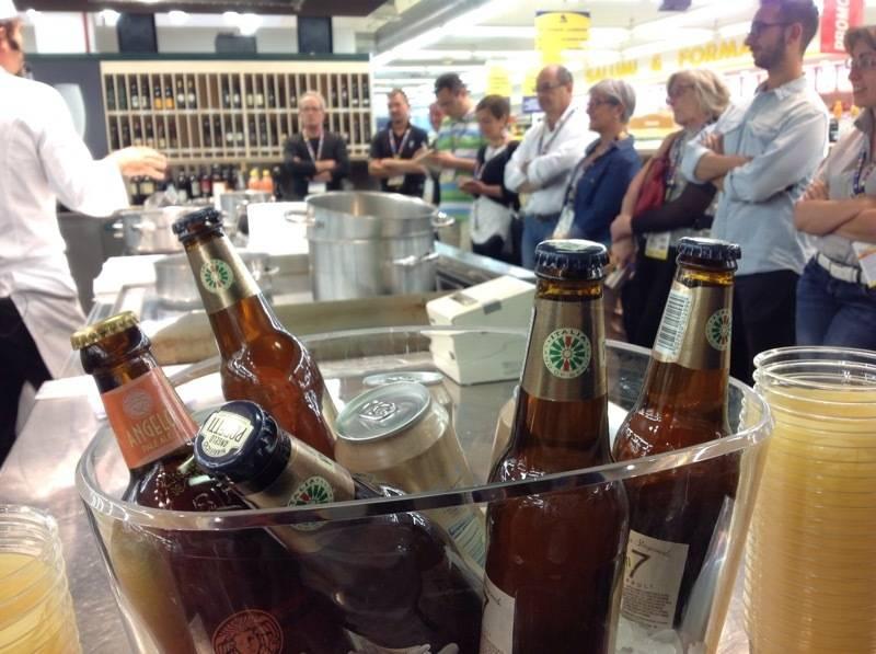 La grande cucina che sposa la birra