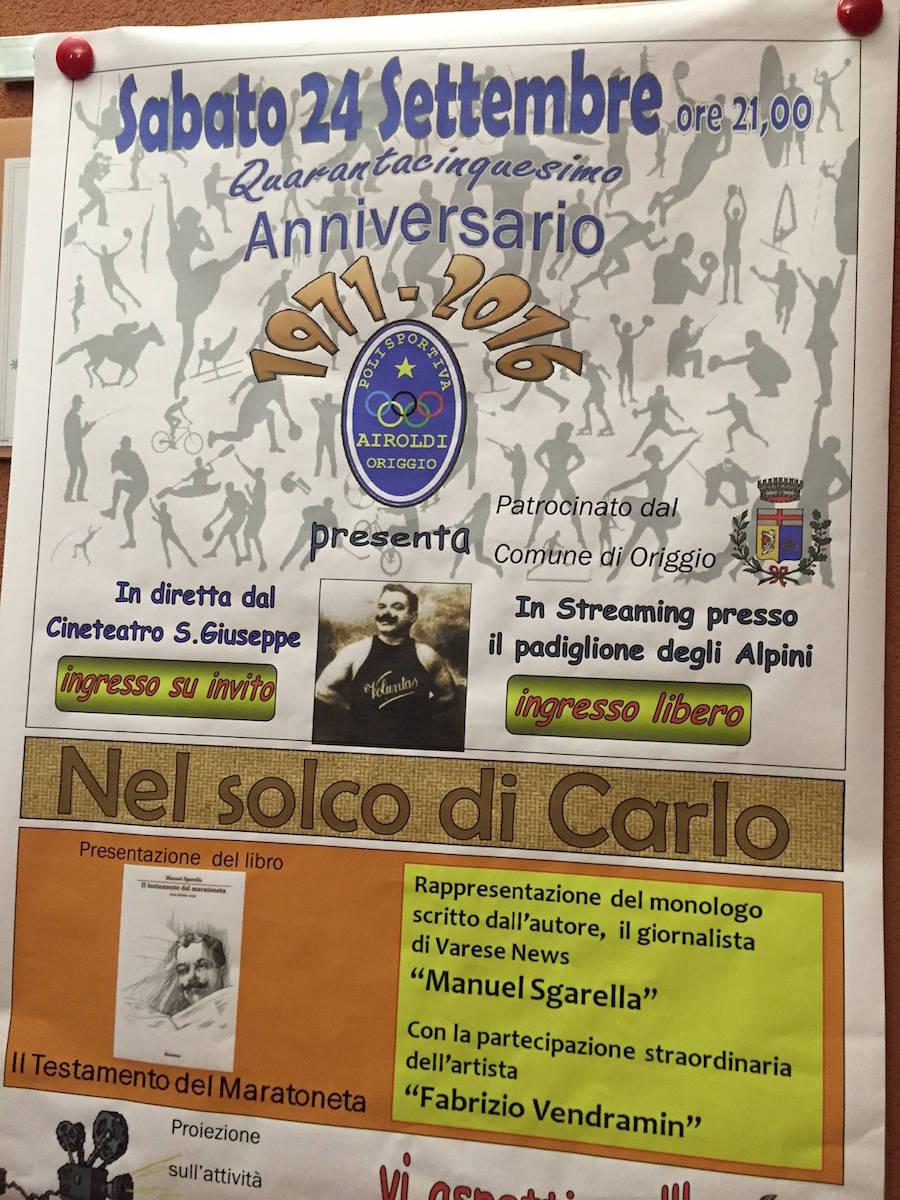La Polisportiva di Origgio compie 45 anni