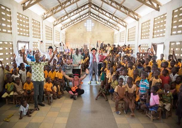 La Zattera teatro porta sorrisi in Ghana