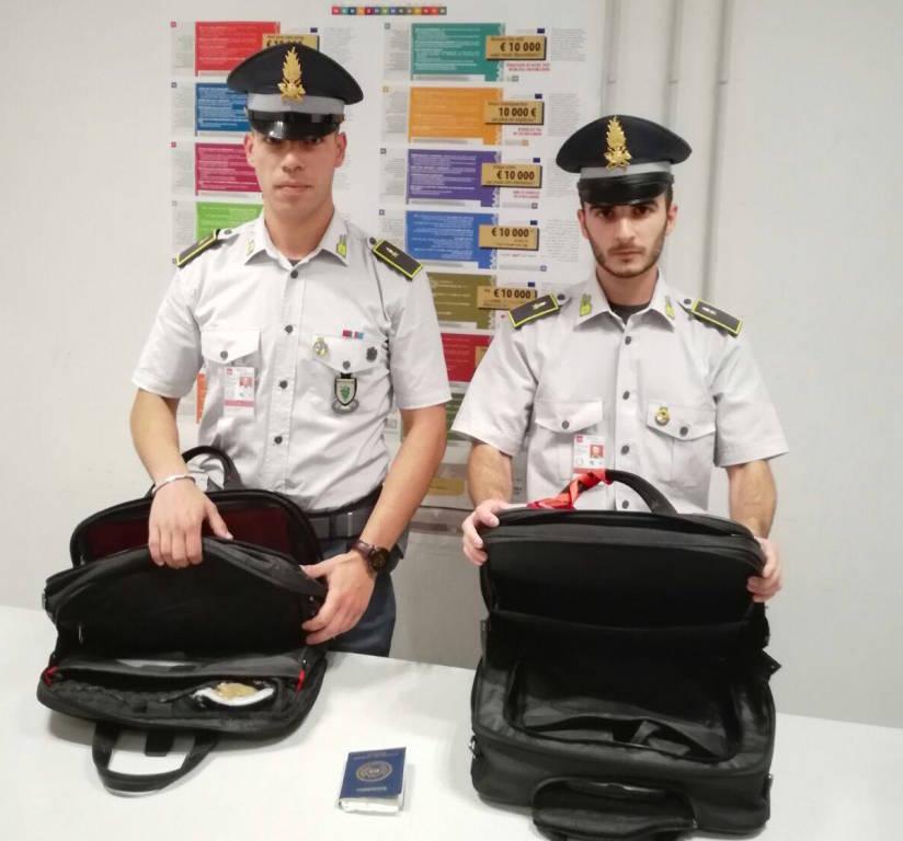 Malpensa - arresto per traffico di cocaina