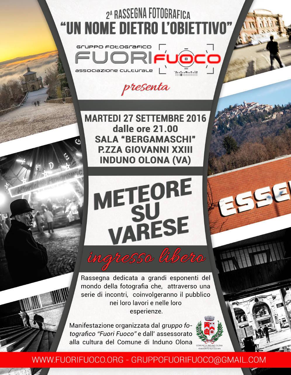 Meteore su Varese