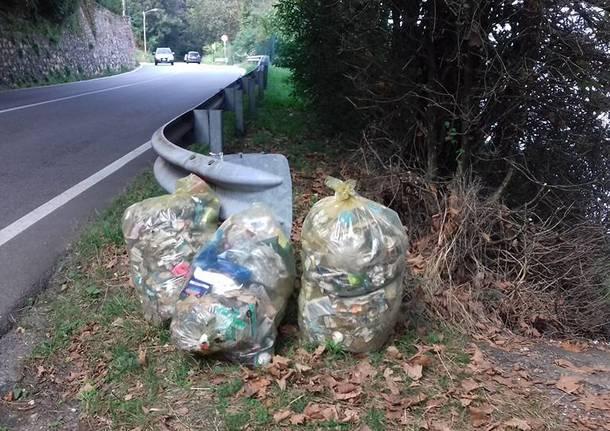 Porto Ceresio - strade pulite settembre 2016