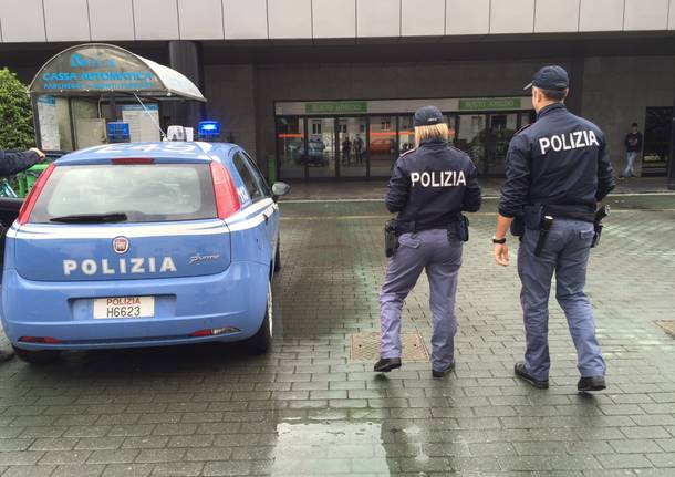 profughi stazione nord polizia