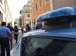 Richiedenti asilo protestano a Busto Arsizio