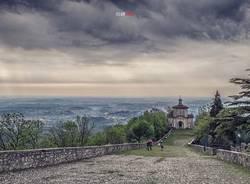 Sacro Monte con la pioggia - foto di Andrea Plebani
