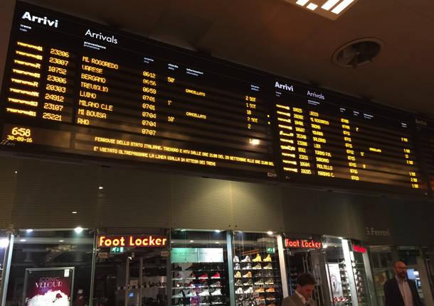 Sciopero dei treni del 30 settembre 2016