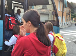 Sullo scuolabus della Rasa