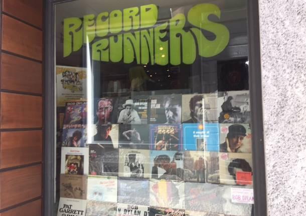 Bob Dylan Record Runners negozio dischi