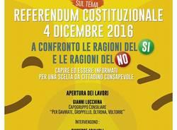 Gavirate: incontro sulla riforma costituzionale