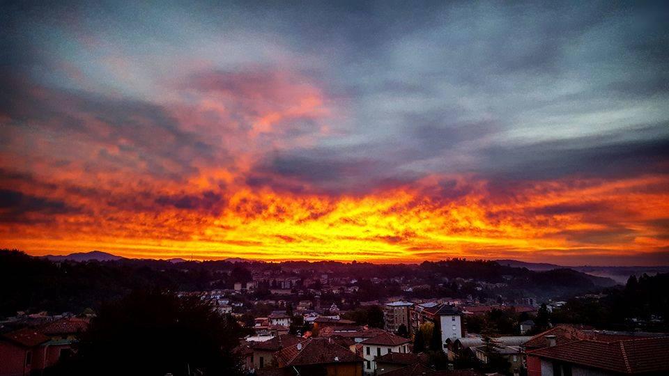Un\'alba di fuoco