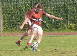 """stadio delle """"Azalee"""" di Gallarate.  Rugby Varese, e una delle ultime nate – i padroni di casa del Malpensa Rugby –"""