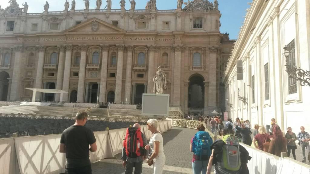 La corale di Colmegna a Roma