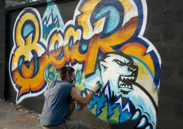I graffiti di Andrea Borsetto