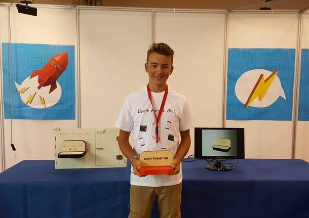 Partecipazione Maker Faire 2016 di 16enne di Sesto Calende
