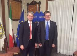 Il sindaco incontra il Rotary Varese Verbano