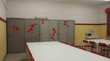 Le nuove aule di arte delle scuole del paese