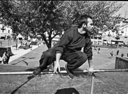 Dieci anni di Parkour in piazza Repubblica
