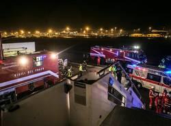 esercitazione aeroporto Malpensa 2016