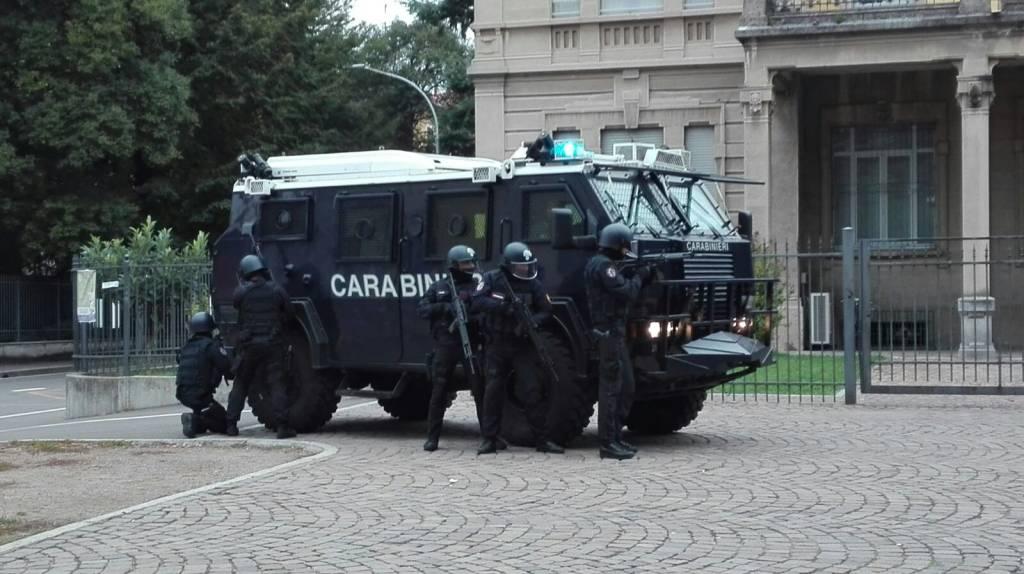 esercitazione sos carabinieri olgiate olona