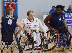 francesco roncari handicap sport varese basket in carrozzina