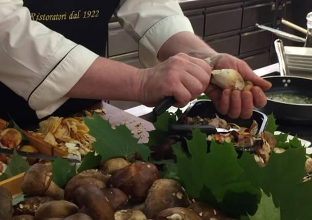 Funghi, zucche e castagne: è l'autunno di Venanzio