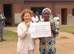 gemellaggio con scuola del Congo maestra Ivana