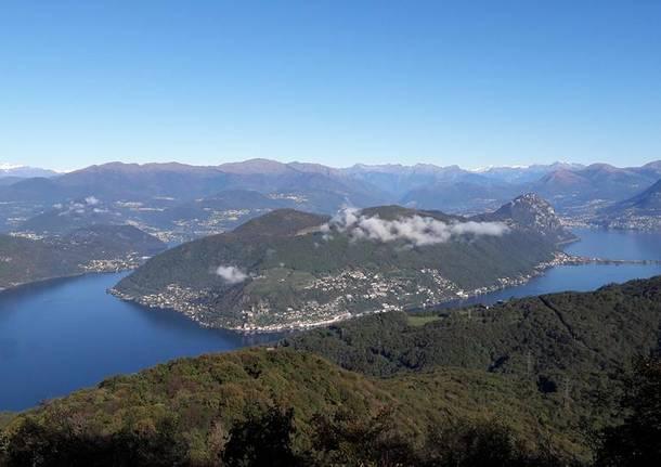 Il Ceresio dal Monte Pravello - foto di Marina Zanini