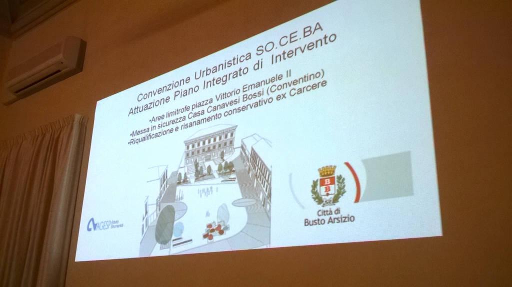 Il progetto per carceri, conventino e piazza Vittorio Emanuele
