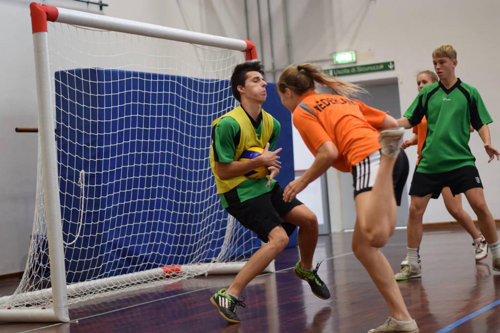 Il torneo di Headball al Liceo Tosi