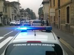 incidente corso XX settembre Busto Arsizio