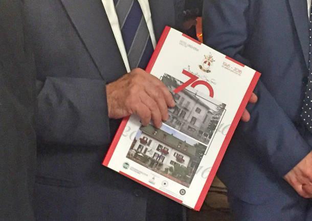 La festa per i 70 anni dell'hotel Ungheria