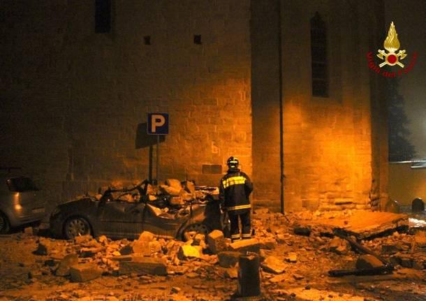 La notte del terremoto