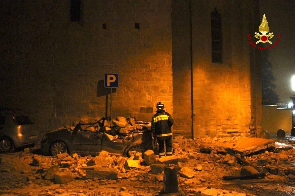 La notte del terremoto a Camerino