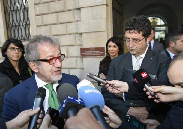 Maroni incontra Beltraminelli a Bellinzona