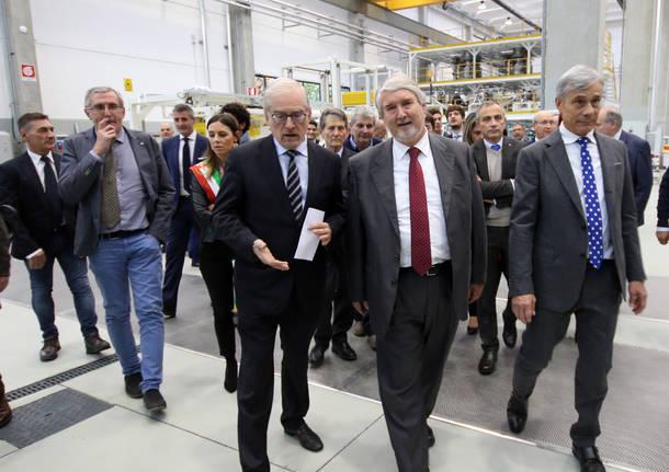Il ministro Poletti in visita alla Bandera