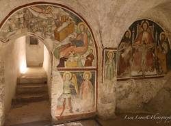 Nella cripta del Sacro Monte