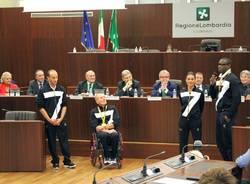 Olimpionici in Consiglio regionale