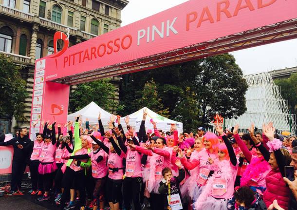 La PittaRosso Pink Parade a Milano