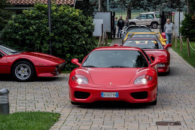Raduno Ferrari a Olgiate Olona