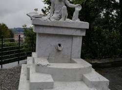 Restauro della Fonte di Sant'Agostino a Casciago