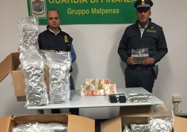 Traffico di droga dalla Spagna a Bergamo, arrestati spacciatori della Val Seriana