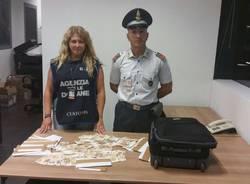 Sequestro di valuta Varese Gaggiolo