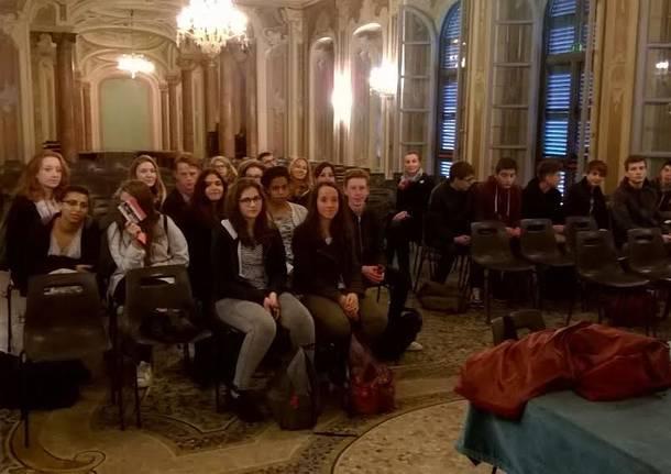 studenti francesi in scambio