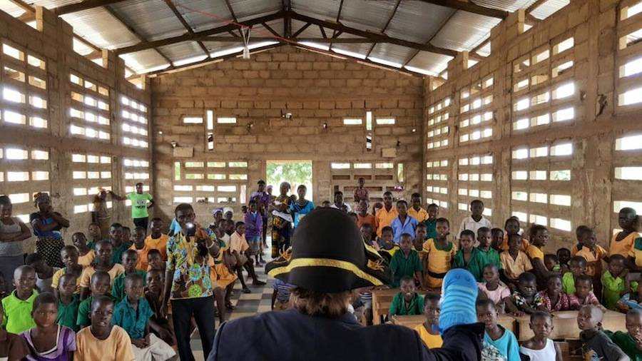 teatro Abor Ghana Africa